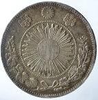 旧1円銀貨 【欠貝円】明治3年(1870年)極美品+日本貨幣商協同組合鑑定書付