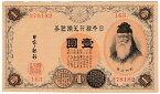 大正兌換銀行券1円 アラビア数字 100番台 未使用