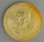 タークス・カイコス諸島 チャーチル100クラウン金貨 1974年 極美品