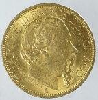 【送料無料・代引手数料無料】モナコ公国 チャールズ3世 100フラン金貨 1886年(A)極美品