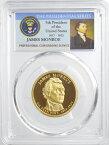 アメリカ ジェームズ・モンロー 第5代アメリカ合衆国大統領 1ドルプルーフ貨 2008年-S PCGS鑑定【PR69 DCAM】