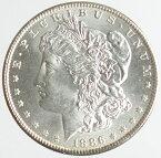 アメリカ モルガン1ドル銀貨 1886年 未使用