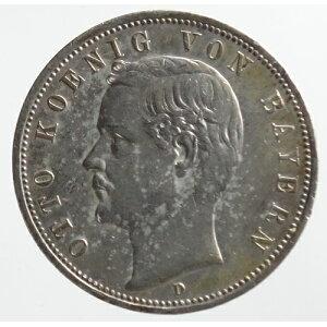 Немецкая Бавария 5 Марка 1893 (D)