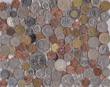 外国コインいろいろお得なパック約700g入り!