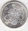 東京オリンピック記念100円銀貨未使用1964年昭和39年