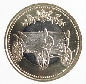 【記念貨】天皇陛下御在位30年記念500円バイカラー・クラッド貨幣平成31年(2019年)