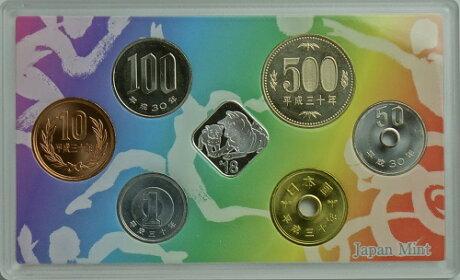 2018平成30年福井しあわせ元気国体2018貨幣セット