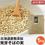 【ネコポス送料無料】発芽そばの実誉1kg(1袋)