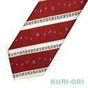 KURI-ORI[クリオリ]制服 スクールネクタイKRN35鍵盤音符レッド 男女兼用 ONP