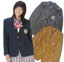 【送料無料】【日本製】KURI-ORI★クリオリハイグレード!本格制服仕様・女子用ジャケット ブレザーKRJK 紺・グレー・キャメル今なら…