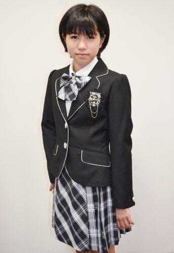 R-10女子用パイピングスーツ5点セットモノトーンセット ジュニアサイズ140〜165