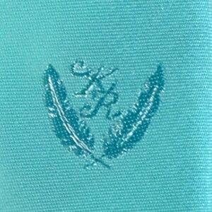 KURI-ORI[クリオリ]制服スクールネクタイKRN10ミント無地男女兼用小剣先刺繍入り
