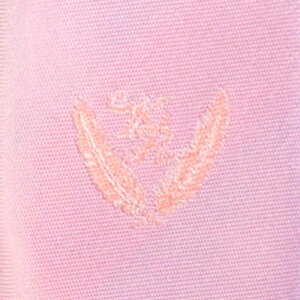 KURI-ORI[クリオリ]制服スクールネクタイKRN8ピンク無地男女兼用小剣先刺繍入り