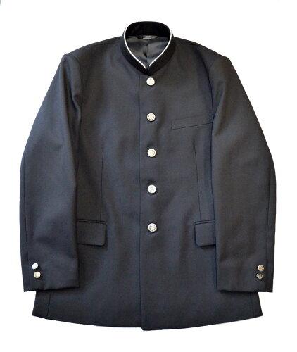 詰襟(上着)東京標準服 学ラン 着やすい縫い込みソフトカラータイプ!本物...