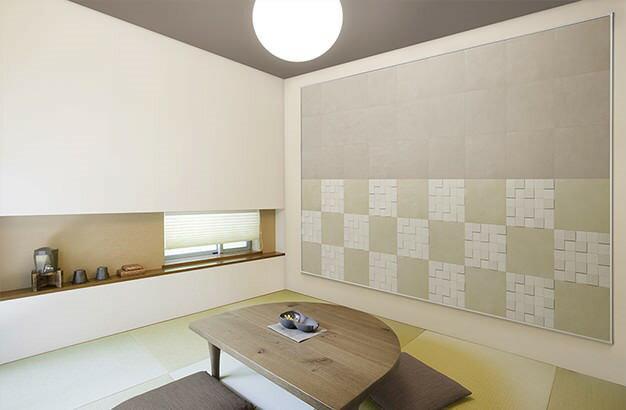 LIXIL エコカラットデザインパッケージ JAPANESE  ジャパニーズ(4平米) ECO-DP-04M6/JAP-001(見切り材あり):クリモ