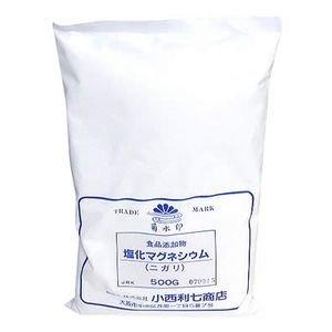 塩化マグネシウム(ニガリ) 500g 小西利七商店品 食品添加物