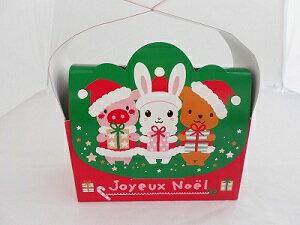 キラキラクリスマス箱 1枚 【製菓材料 製パン材料 お菓子材料 お菓子レシピ】