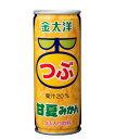 栗の実で買える「太洋食品 金太洋粒甘夏みかん【つぶつぶみかん つぶつぶオレンジ 粒々ジュース 果汁 みかんジュース】」の画像です。価格は83円になります。