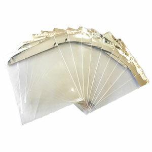 無地袋 テープ付き 中 10枚 透明 業務用 激安 ラッピング ラッピング用品 シーラー おしゃれ かわいい バレンタイン ホワイトデー 手作り キット 友チョコ 義理チョコ ファミチョコ