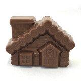 オーナメント チョコ ウッドハウス クリスマスケーキ用 デコレーション 業務用