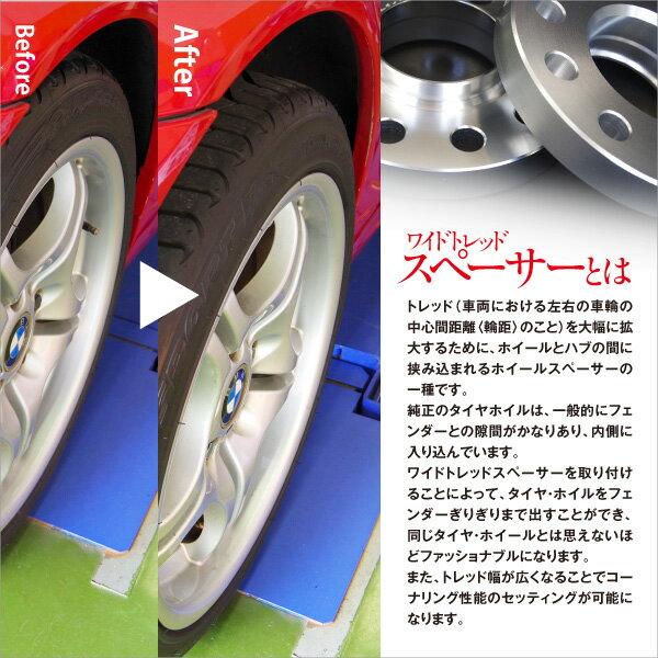 【楽天市場】ホイールスペーサー ワイドトレッドスペーサー 15mm 厚 Audi A7 スポーツバック 5ホール