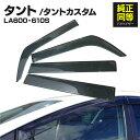 ドアバイザー タント TANTO LA600S LA610S 専用設計 高品質 ...