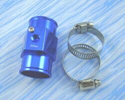 *638090*高品質ラジエター水温計センサーアタッチメント36mm