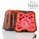 東京カヌレ1個(ストロベリー)プレゼント にフランス 焼き菓子 を老舗 洋菓子 店がアレンジした かわいい スイーツ♪