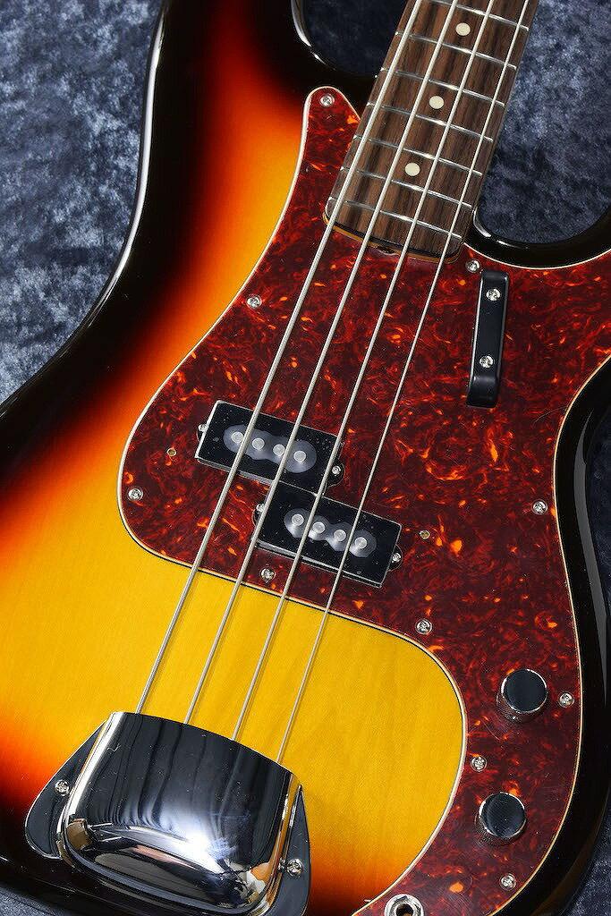 ベース, エレキベース Fender Hama Okamoto Precision Bass 4 - 3-Color Sunburst-NEW