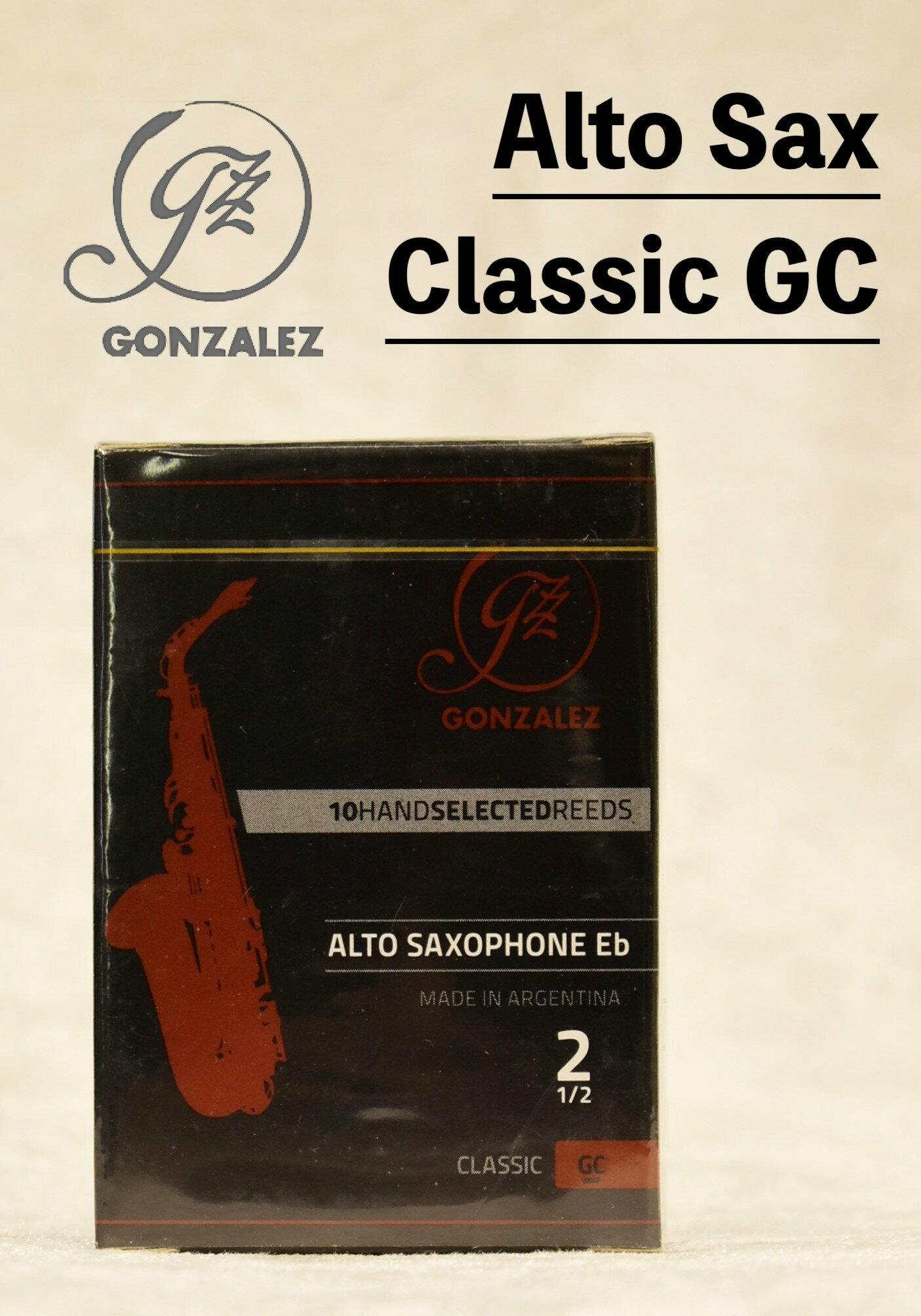 木管楽器用アクセサリー・パーツ, リード GONZALEZ Classic ModelGC 10YOKOHAMA