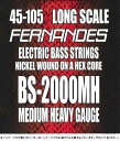 Fernandes BS-2000MH LongScale MediumHavey Gauge 45-105 【ネコポス】【ONLINE STORE】