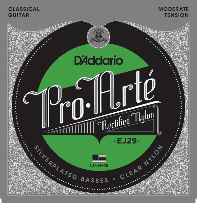 ギター用アクセサリー・パーツ, クラシックギター弦 DAddario EJ29 Classics Rectified Trebles, Moderate Tension