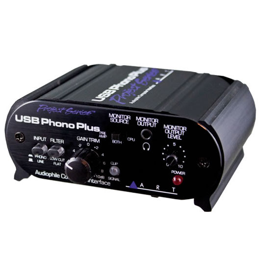 DAW・DTM・レコーダー, オーディオインターフェイス ART USB Phono Plus Project SeriesACPHUSBPSUSBsmtb-uONLI NE STORE