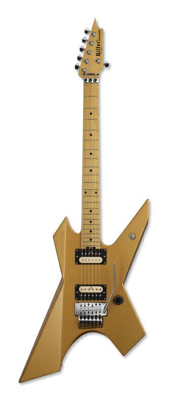 ギター, エレキギター Killer KG-EXPLODER (Vintage Gold)smtb-uONLINE STORE