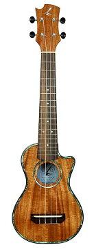 K ukulele K-201C《ソプラノロングカッタウェイウクレレ》【アカシアコア材単板】【送料無料】【クロサワ楽器池袋店WEB SHOP】