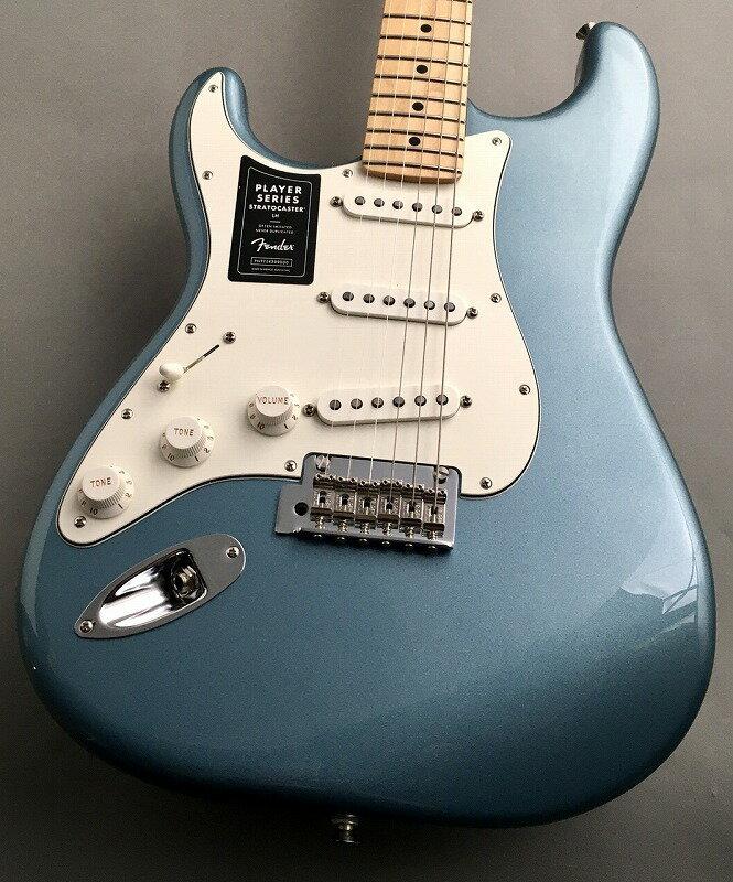 ギター, エレキギター Fender Player Stratocaster Left-Handed Tidepool MX21039807 3.40kgG-CLUB