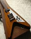 Gibson Flying V ~Antique Natural~ #216810180 【3.20kg】【Burstbucker2,3搭載】【マホガニーボディ】【池袋店】・・・