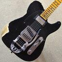 【新品】Fender Custom Shop Limited Edition 50's Vibra Telecaster Heavy Relic 〜Aged Black〜 #CZ540831 【3.77kg】【ビグスビー搭載】【クオーターソーンネック】【ハンドワウンド・ピックアップ】【限定モデル】【選定品】【送料無料】【池袋店在庫品】