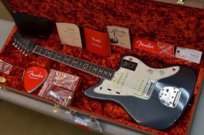 ギター, エレキギター Fender Limited Edition American Original 60s Jazzmaster Charcoal Frost Metallic V2088247 3.77kg