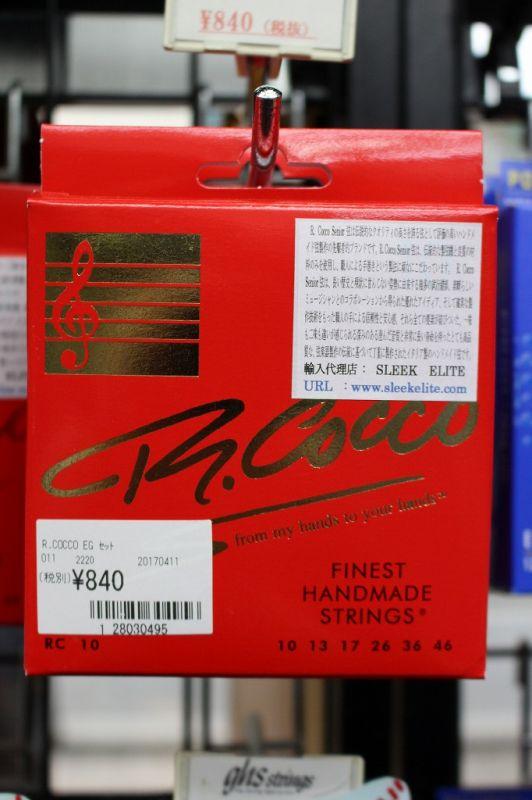 ギター用アクセサリー・パーツ, エレキギター弦 R.Cocco RC10(10-46)WEBWEB SHOP