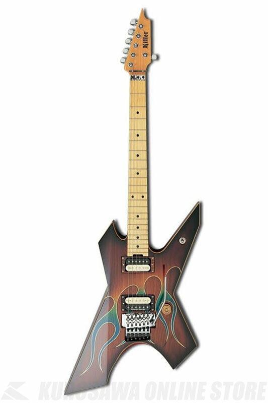 ギター, エレキギター Killer KG-PRIME Blue Flame ONLINE STORE