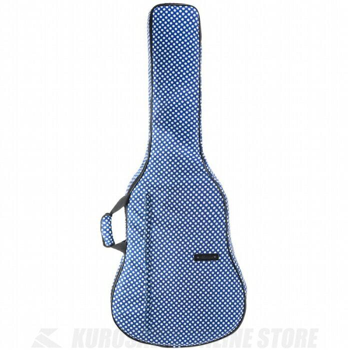 BEAUMONT アコースティックギターバッグ(ブルー・ポルカ・ドット)《アコースティックギター用ギグバッグ》 【送料無料】【ONLINE STORE】