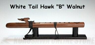 HighSpiritsFlutesホワイトテール・ホーク112-Wkey/Bウォルナット材450mm《インディアンフルート》