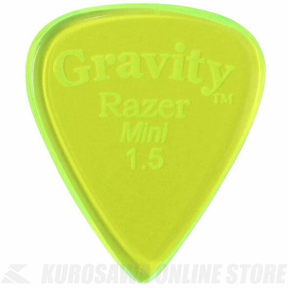 アクセサリー・パーツ, ピック GRAVITY GUITAR PICKS GRAM15P (1.5mm, Fluorescent Green) ONLINE STORE
