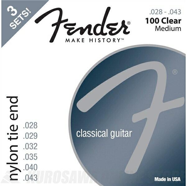 ギター用アクセサリー・パーツ, クラシックギター弦 Fender ClassicalNylon Guitar Strings(28-43)3ONLINE STORE