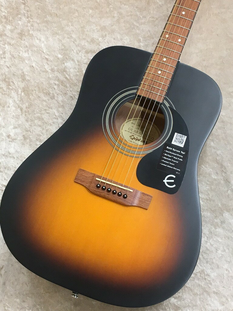 ギター, アコースティックギター Epiphone DR-100S VSS