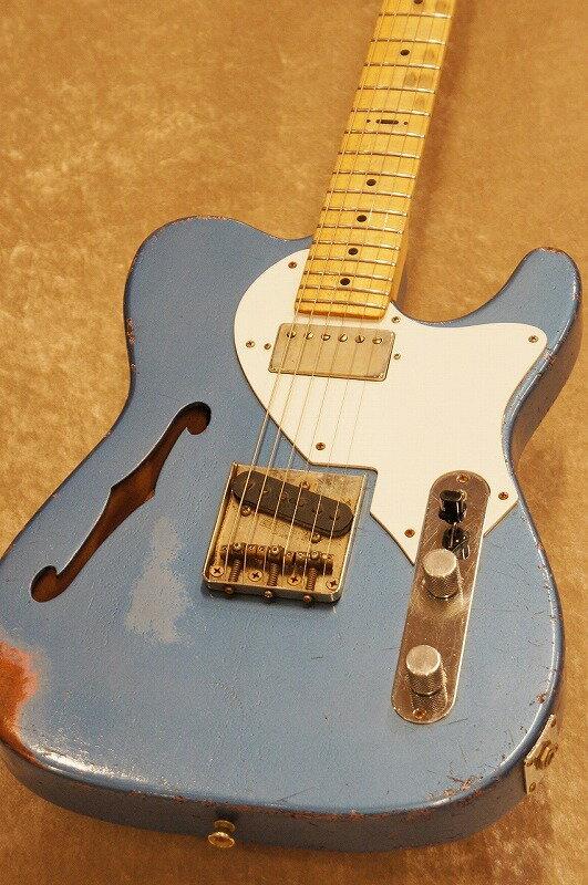 ギター, エレキギター Hansen T-Style Thinline Hard Relic -PB on BMMM-B!!