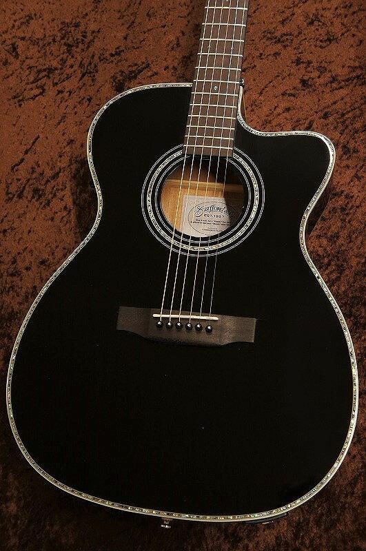 ギター, アコースティックギター Stafford SF-5C Black !