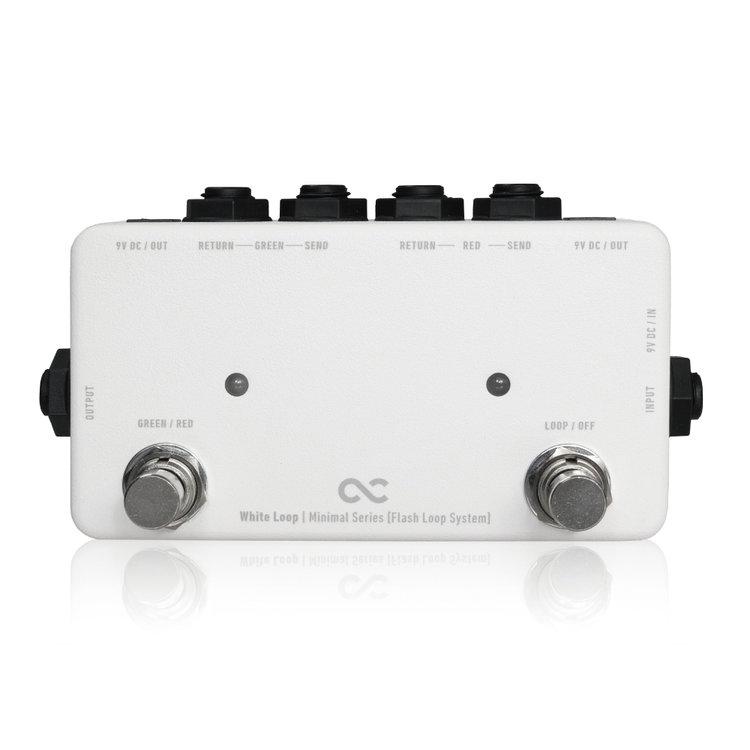 ギター用アクセサリー・パーツ, エフェクター One Control Minimal Series White Loop -Flash Loop with 2DC OUT- ONLINE STORE