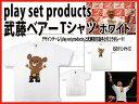 「プロレスグッズ」PSP武藤ベアー Tシャツ【ホワイト】【ONLINE STORE】